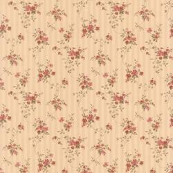 Laurie beige Floral Stripe 413-66375