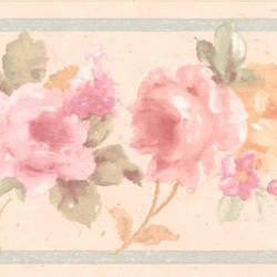 Luanne pink Floral Border 413B0533