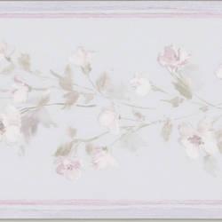 Lilah lavender Floral Border 413B05565