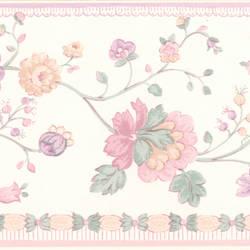 Erica lavender Floral Border 413B05871