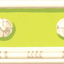 Vivian Light Green Decorative Border 413B742158
