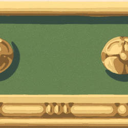 Vivian Green Decorative Border 413B742161