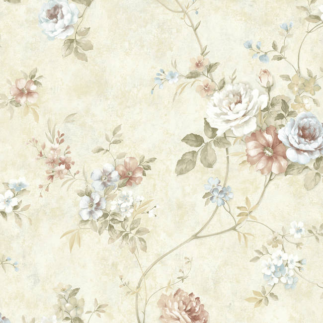 Voluta Beige Acanthus Scroll ARB67502