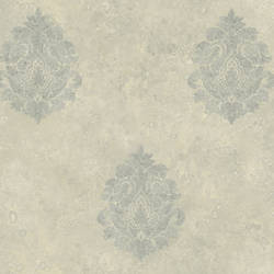 Light Grey Baroque Damask ART25101