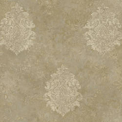 Brown Baroque Damask ART25103