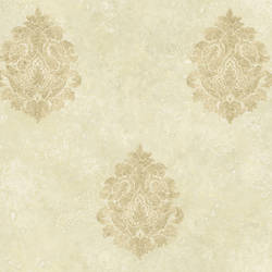 Neutral Baroque Damask ART25105