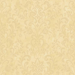 Yellow Country Damask ART663411