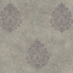 Grey Baroque Damask ART25102