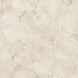 Gracie Grey Scroll Wallpaper