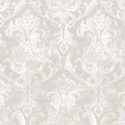 Elsa Stone Ornate Damask Wallpaper