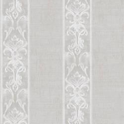 Elsa Stone Alternating Damask Stripe Wallpaper