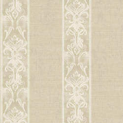 Elsa Ale Alternating Damask Stripe Wallpaper