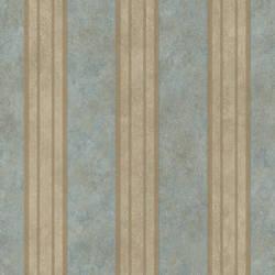 Giovanni Blue Tuscan Alternating Stripe Wallpaper