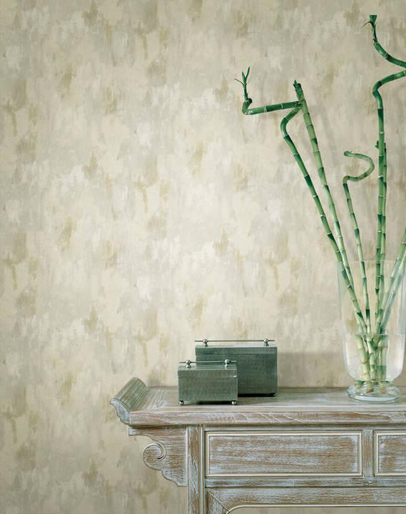 Flint Grey Vertical Texture Wallpaper