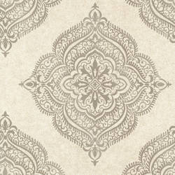 Capella Flax Medallion 2665-21404