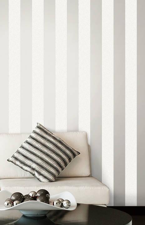 Magnus Cream Paisely Stripe 2665-21429
