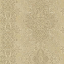 Benedict Gold Ornate Paisley Stripe 2665-21430