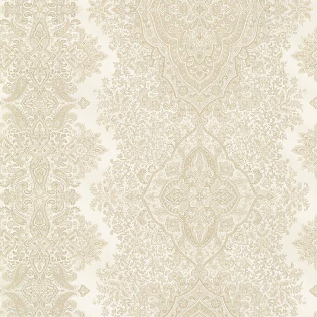 Benedict Beige Ornate Paisley Stripe 2665-21432