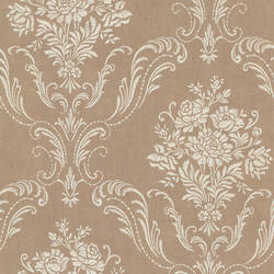 Manor Copper Floral Damask 2665-21444