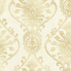Noble Cream Ornate Damask 2665-21456