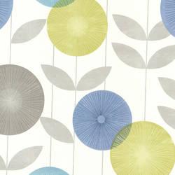 Monroe Aquamarine Modern Floral 2532-20412