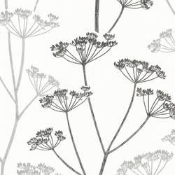 Albury Black Brasilia Flower 2532-20427