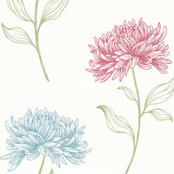 Dehlia Pink Floral Toss 2532-20430
