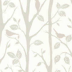 Corwin Grey Bird Branches 2532-20446