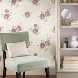 Venetia Violet Vintage Rose Toss 2532-20451
