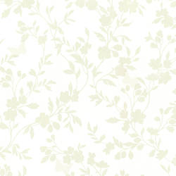Layla Light Green Floral Trail Silhouette 2532-20463