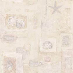 Evie Beige Seashell Mosaic 2532-37348