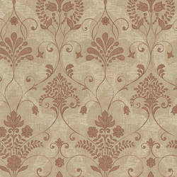 Andalusia Sienna Damask 2614-21035