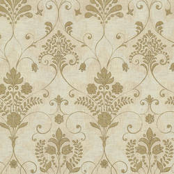 Andalusia Gold Damask 2614-21036