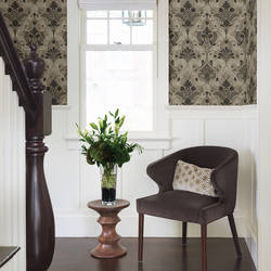 Andalusia Black Damask 2614-21037