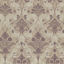 Andalusia Violet Damask 2614-21038
