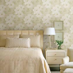 Leala Golden Green Modern Floral 2614-21054