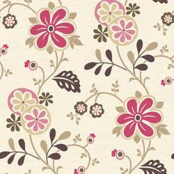 Darlene Magenta Modern Floral Trail 2532-20676