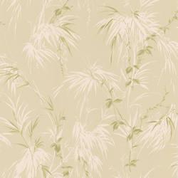 Nessa Beige Satin Leaf Motif 2532-63833