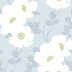 Leala Light Blue Modern Floral 2614-21050