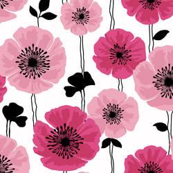 Darcy Magenta Modern Floral 2532-20489