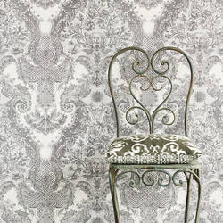 Magella Light Grey Damask 356081