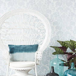 Perigee Blue Damask 356100