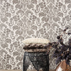 Perigee Grey Damask 356101