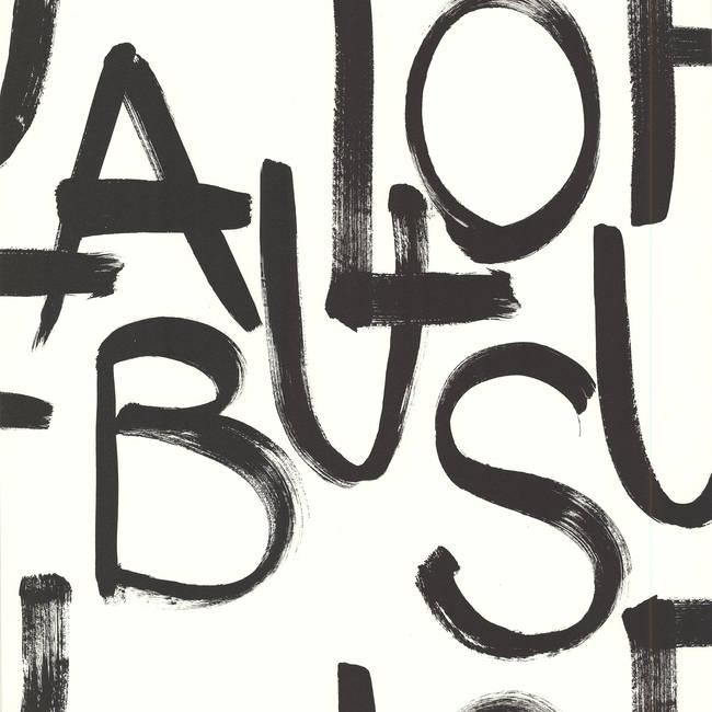 Fabulous Cream Brushstroke Text 356140