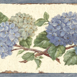 Esther Blue Hydrangea Trail Border BBC46001B