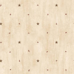 Marge Wheat Star Sprigs Toss Wallpaper BBC09068