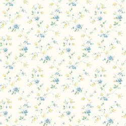 Carla Blue Spring Bloom Trail Wallpaper BBC21561