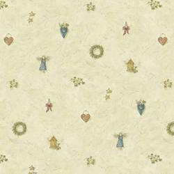 Mazy Blue Hearts Dolls Toss Wallpaper BBC21711