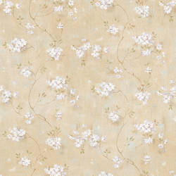 Braham Wheat Country Floral Trail Wallpaper BBC44101