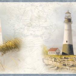Arya White Lighthouse Coast Border BBC48422B